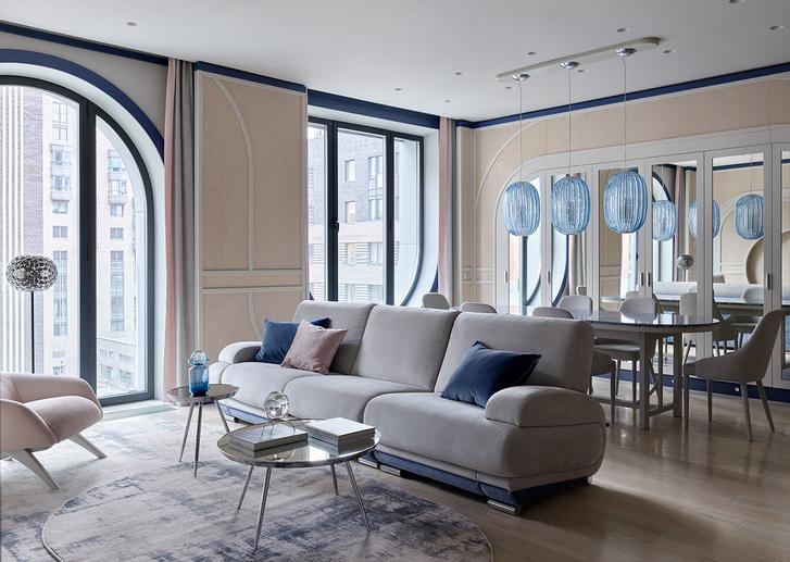 Фото №4 - Квартира 105 м² с необычным дизайном и арочными окнами на ЗилАрт