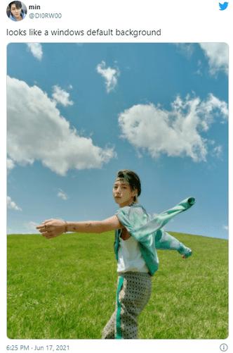 Фото №2 - Стэнить k-pop айдолов может даже Microsoft Windows. Особенно Ренчжуна из NCT 🤣