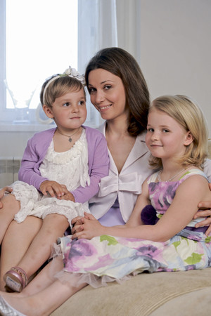 Фото №1 - Александра Урсуляк, Аня и Настя: Дважды мама