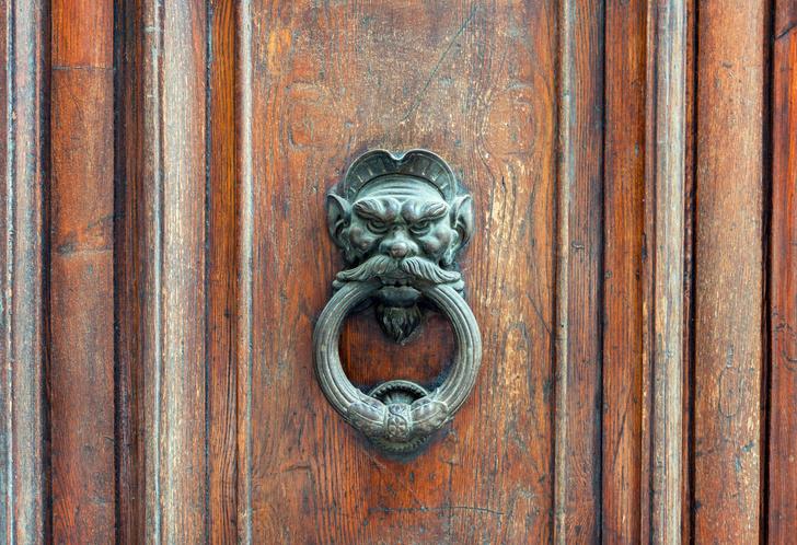 Фото №4 - Почетные стукачи: итальянские дверные молотки