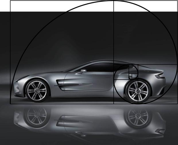 Фото №3 - Опубликован список самых красивых с точки зрения математики автомобилей