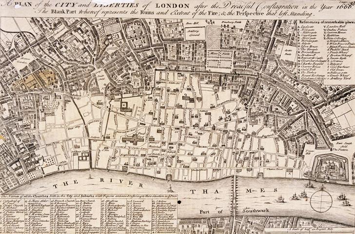 Фото №1 - Гид путешественника во времени: 2 сентября 1666 года, Лондон
