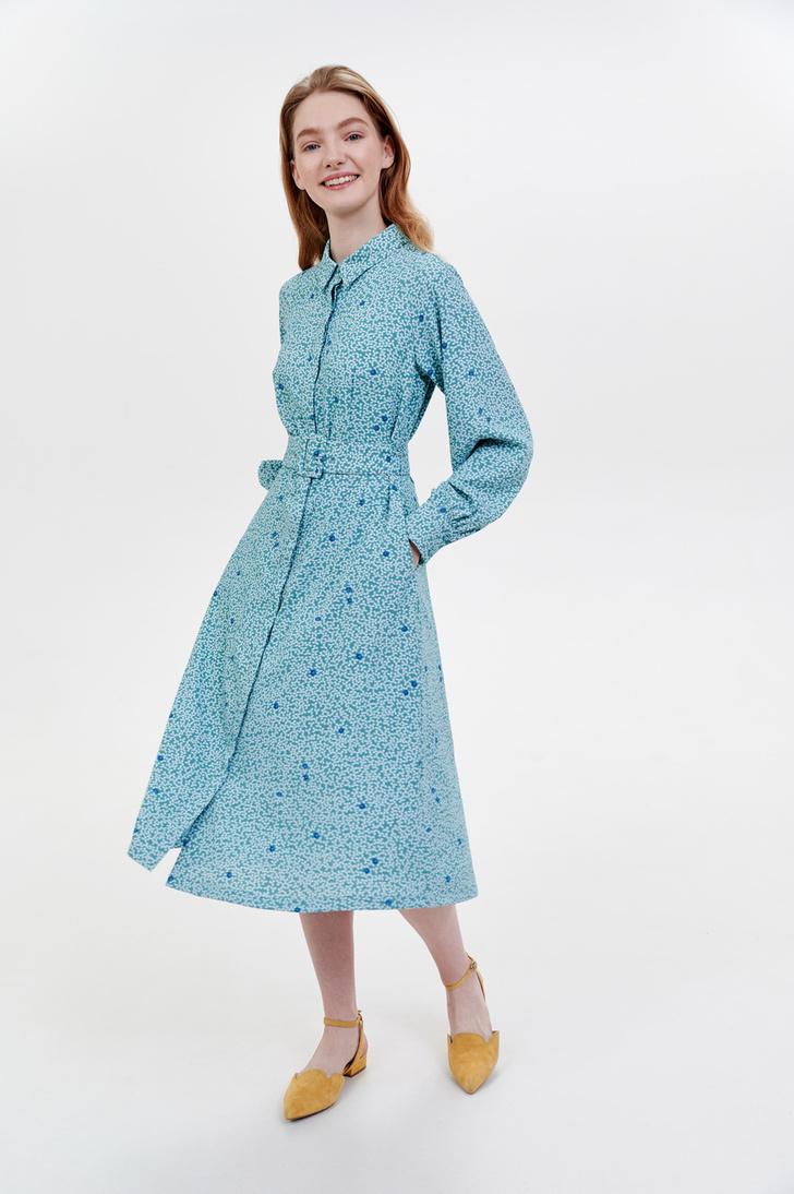 Фото №14 - Летом всем нам нужно платье в цветочек. Вот 20 нежных вариантов