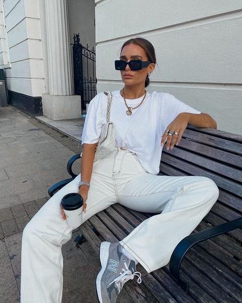 Фото №6 - Разбавляем гардероб: с чем носить белые джинсы этой весной