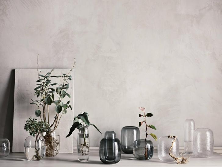 Фото №1 - Una: вазы-трансформеры Катерины Соколовой для марки Bolia