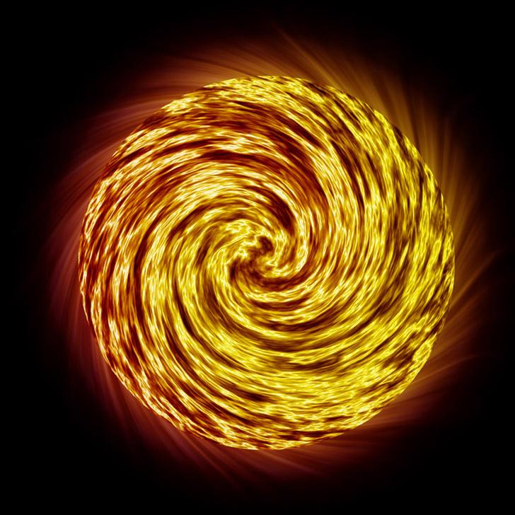 Фото №1 - Как пламя горит в невесомости?