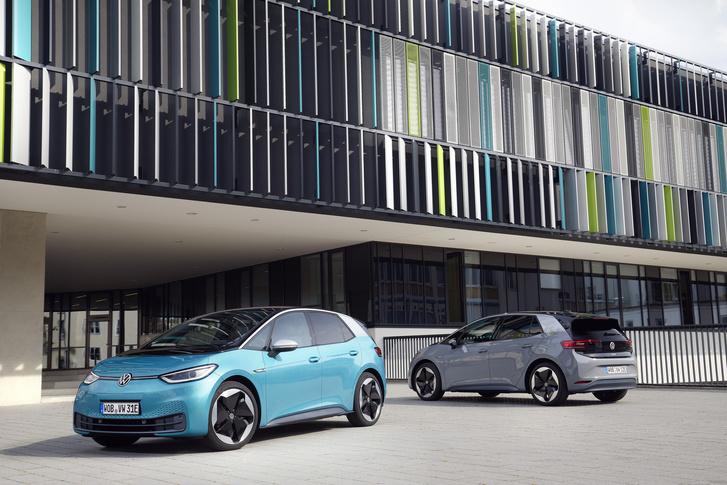 Фото №2 - И восхитительный хэтчбек! Новый Volkswagen ID3 пробует себя в роли Прометея