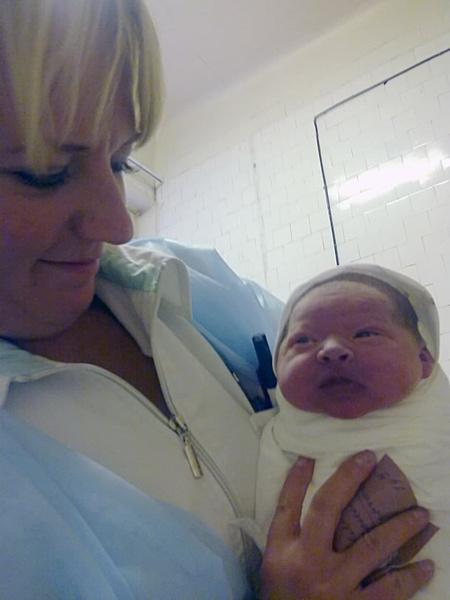 как выглядит ребенок сразу после рождения