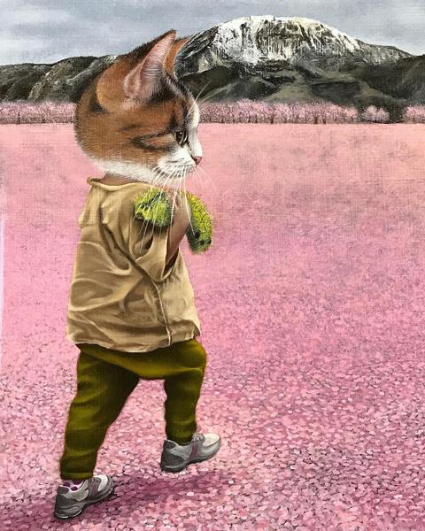 Фото №4 - Инстаграм дня: Японский художник, который рисует котиков