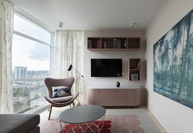 Фото №1 - Киевская квартира 82 м² в пастельных тонах