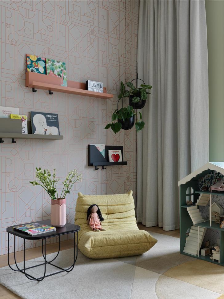 Фото №7 - «Архитектурный» интерьер московской квартиры