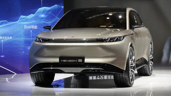 Фото №2 - Ветчина и ржавчина выставки «АвтоШанхай-2021»