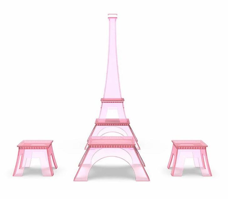 Фото №1 - Коллекция мебели в виде Эйфелевой башни