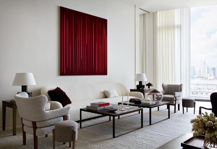 Фото №1 - Дизайнерские апартаменты с видом на Гудзон