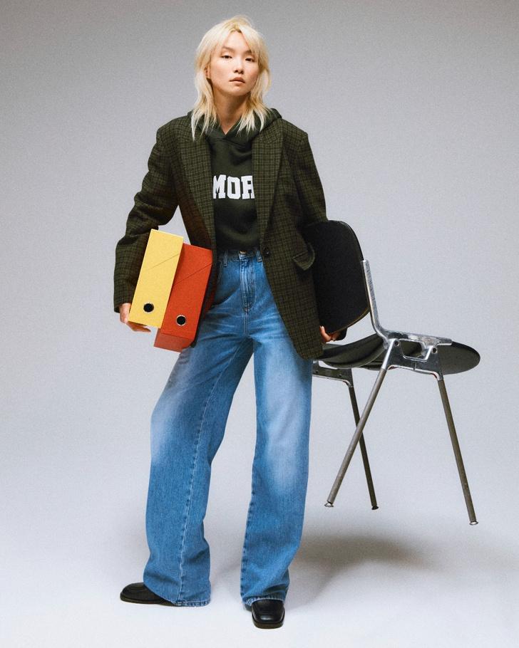 Фото №3 - Что носить в офис? 5 нескучных сочетаний из новой коллекции Claudie Pierlot