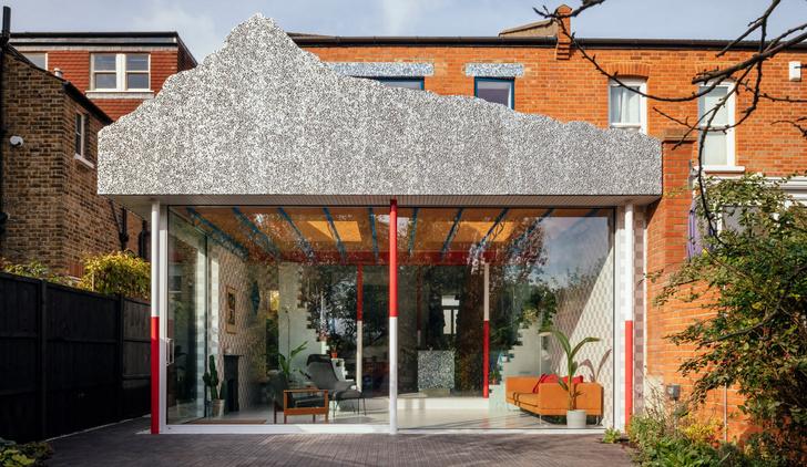 Фото №1 - Дом со стеклянной пристройкой в Лондоне