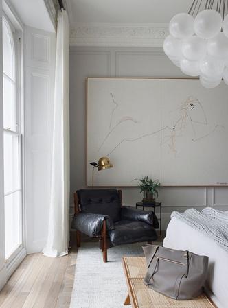 Фото №9 - Светлая квартира с винтажной мебелью в Лондоне