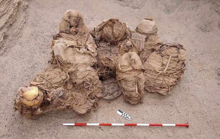 Фото №1 - В Перу найдены мумии возрастом 800 лет