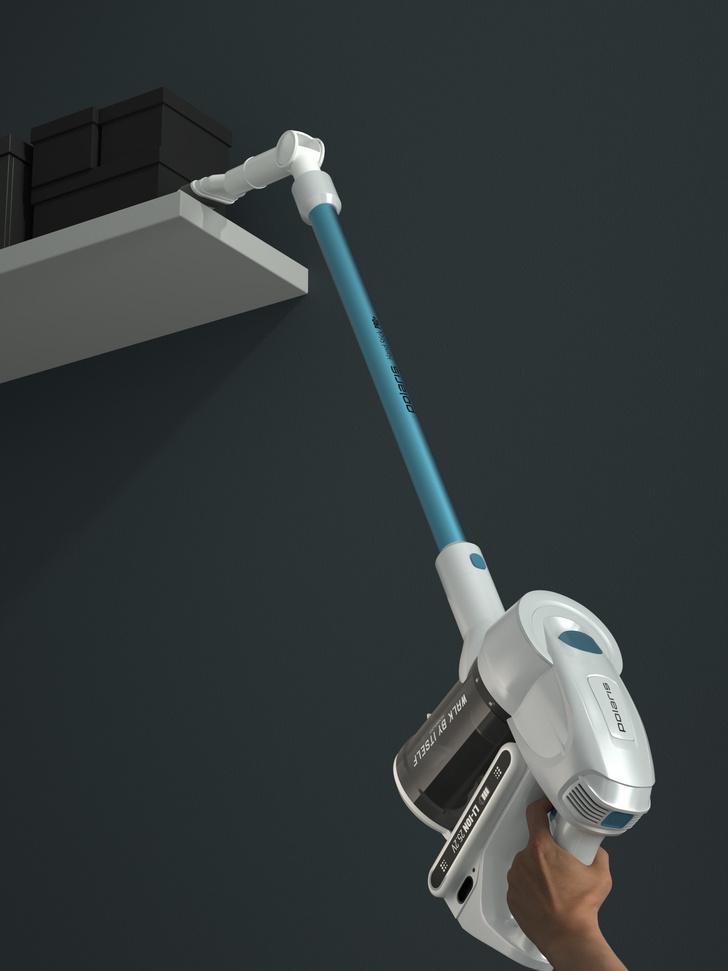 Фото №2 - Беспроводной пылесосPolarisc УФ-лампой: дезинфекция дома без усилий