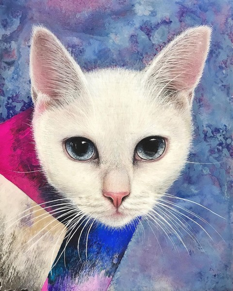 Фото №6 - Инстаграм дня: Японский художник, который рисует котиков