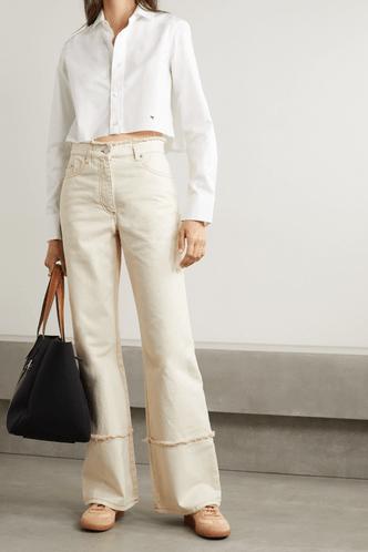 Фото №17 - 5 моделей брюк, которые делают ноги визуально длиннее