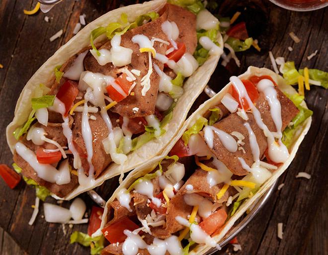 Мексиканское тако с курицей рецепт фото