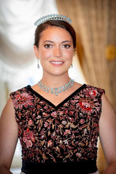 Принцесса Люксембурга Александра, 20 лет