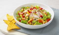 Как приготовить праздничный салат с грибами и кукурузой