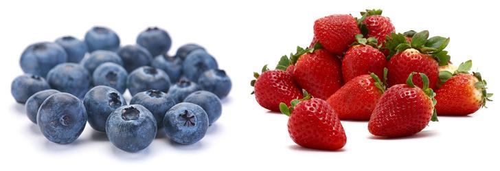 Фото №1 - Почему у смородины, черники, клюквы и многих других ягод семечки внутри, а у земляники и клубники— снаружи?