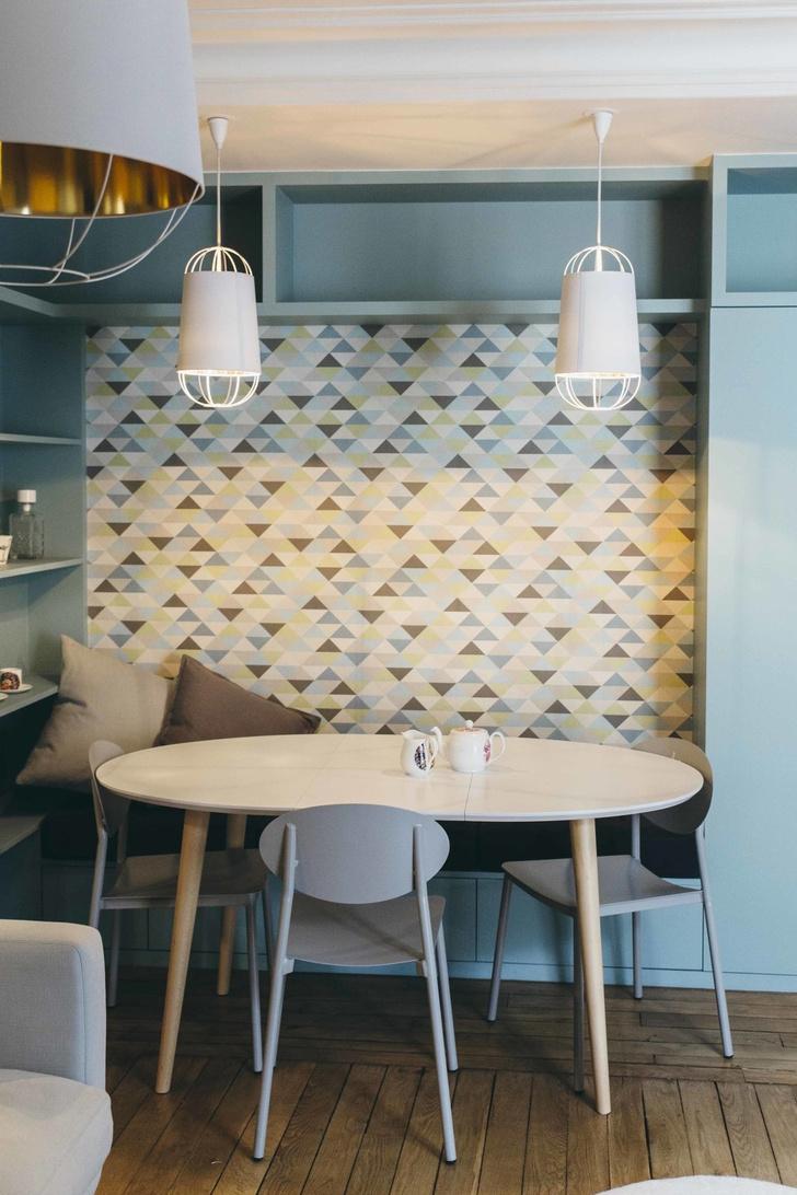 Фото №3 - Обои в интерьере кухни: идеи и решения