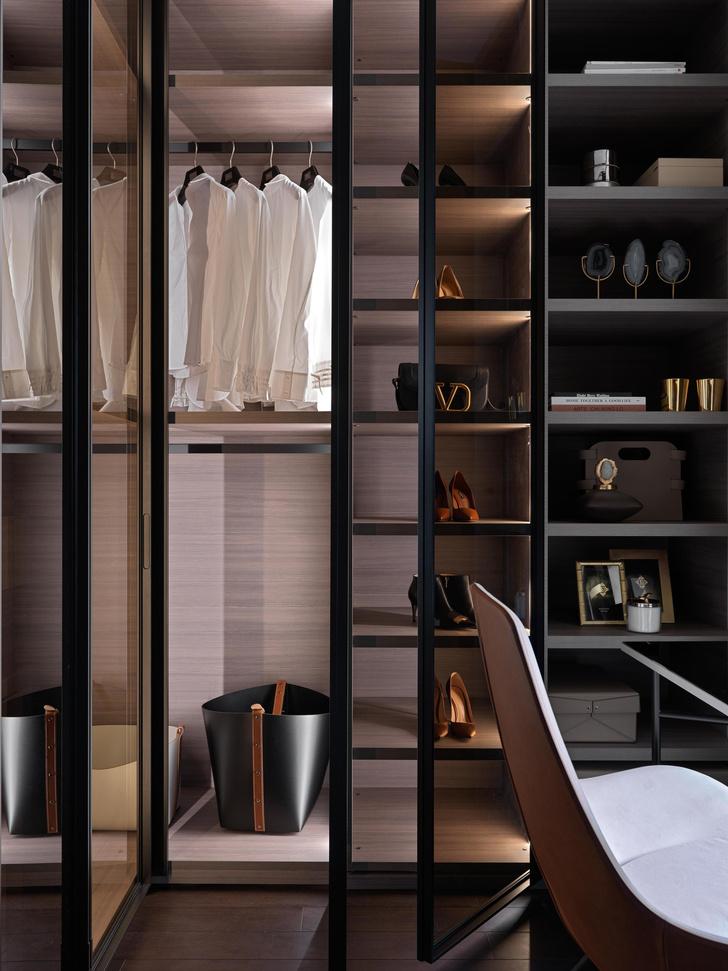 Фото №11 - Новая классика в серых тонах: квартира 100 м² в Москве