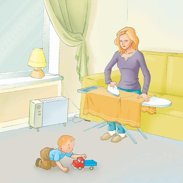 Фото №2 - Как обезопасить малыша от ожогов?