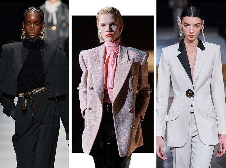 Фото №1 - От кожи до клетки: самые модные жакеты осени и зимы 2020/21