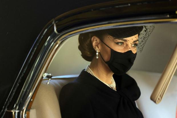 Похороны принца Филиппа: Кейт Миддлтон