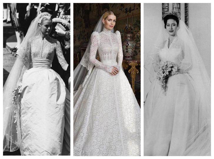 Фото №1 - Знаменитые невесты, платьями которых вдохновлялась леди Китти Спенсер