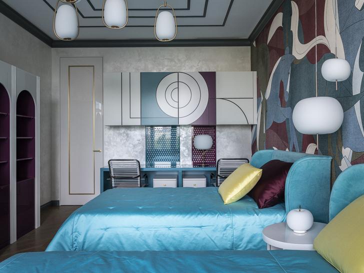 Фото №9 - Эклектичная квартира для большой семьи в центре Москвы