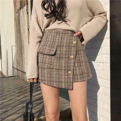Фото №4 - Одежда как в дорамах: с чем носить юбку-шорты весной 2021