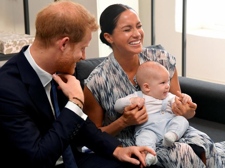 Фото №1 - Хулиган Арчи: почему Меган и Гарри жалуются на поведение сына