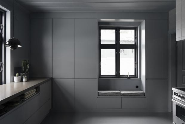 Фото №5 - Лунное безмолвие: дом в серых тонах в Швеции