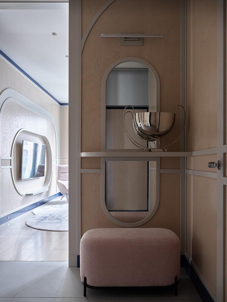 Фото №12 - Квартира 105 м² с необычным дизайном и арочными окнами на ЗилАрт