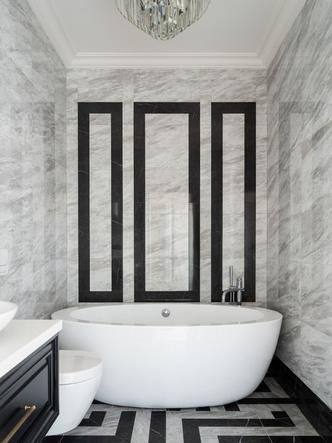 Фото №12 - Двухэтажный коттедж с мансардой 220 м²: проект студии Balcon