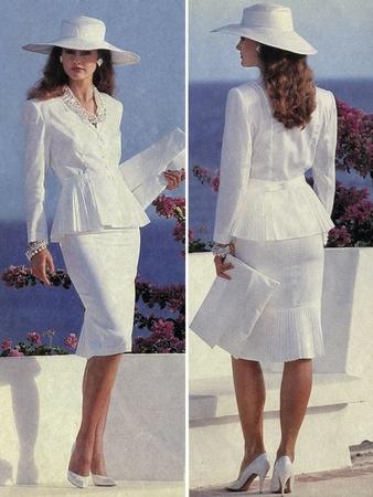 Фото №2 - Как выглядели наряды из первых номеров журнала Burda