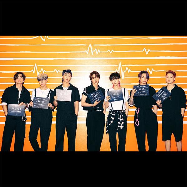 Фото №1 - Наручники-сердечки и тюремная роба: у BTS новая интересная фотосессия 💔