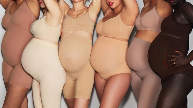 Фото №2 - Ким Кардашьян пришлось оправдываться за создание корректирующего белья для беременных женщин