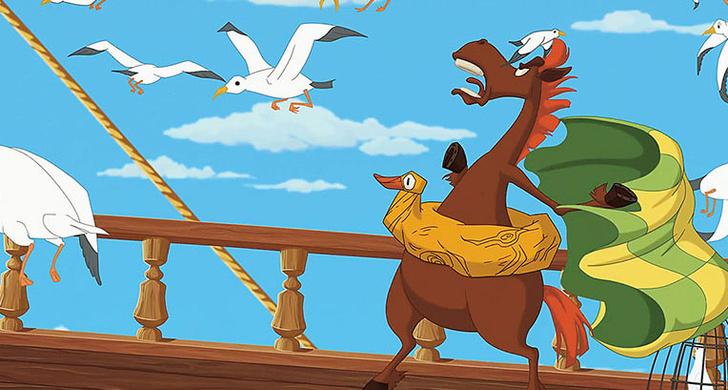 Фото №2 - Как рисуют мультфильмы про трех богатырей