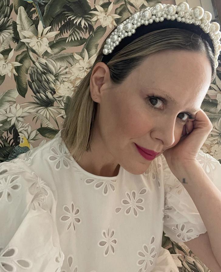 Фото №1 - Еще одна из рода H&M: Сара Полсон в самом красивом платье из исчезнувшей коллекции