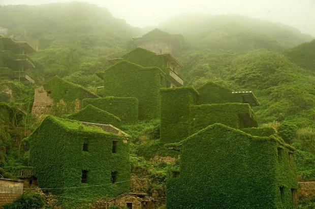 Фото №1 - Заброшенная рыбацкая деревня в Китае: 10+ впечатляющих фото