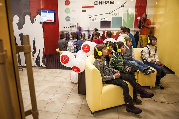 Фото №3 - В «Мастерславле» открылась биржа «ФИНАМ»