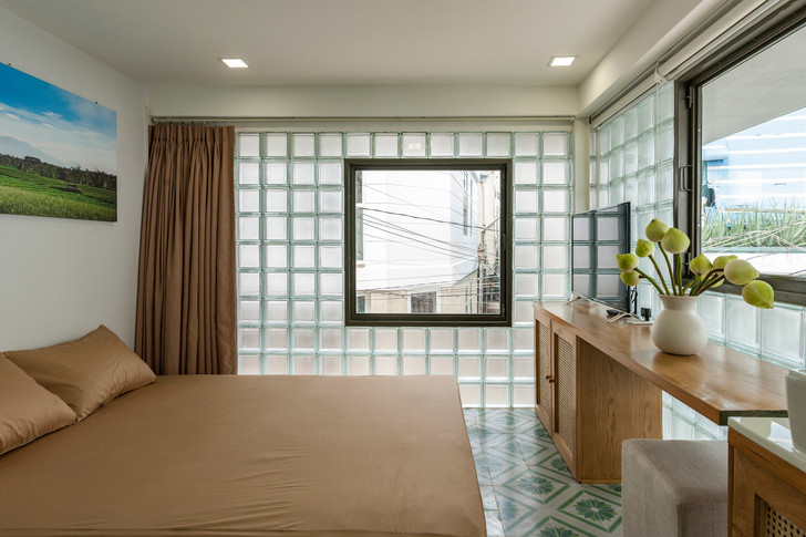 Фото №8 - Дом из стеклоблоков во Вьетнаме