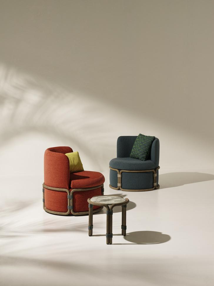 Фото №2 - Летний сезон: новая коллекция мебели от Ethimo